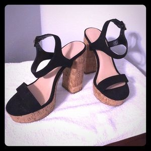 Forever 21 Cork Heels